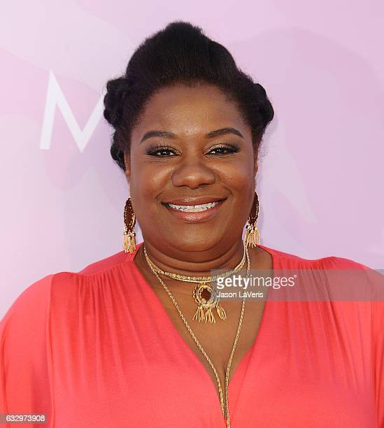Actress Adrienne C Moore attends Variety's celebratory brunch event for awards nominees benefitting Motion Picture Television Fund at Cecconi's on...