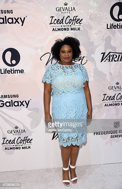 Actress Adrienne C Moore attends Variety's Power of Women New York presented by Lifetime at Cipriani 42nd Street on April 24 2015 in New York City