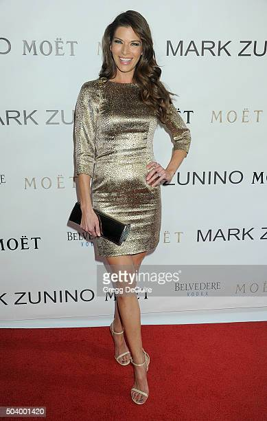 Actress Adrienne Janic arrives at the Mark Zunino Atelier Opening at Mark Zunino Atelier on January 7 2016 in Beverly Hills California