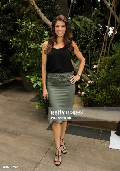 Actress Adrienne Janic attends the ABCs Mother's Day ...