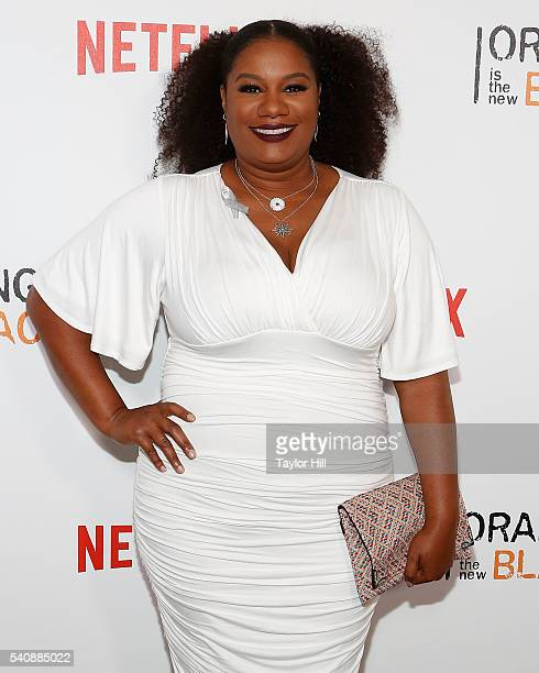 Actress Adrienne Moore attends the premiere of Orange is the New Black at SVA Theater on June 16 2016 in New York City