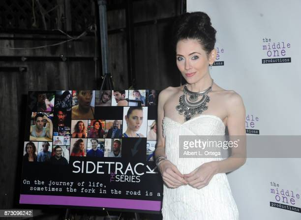 Actress Adrienne Wilkinson arrives for 'Sidetracked The Series' Special Screening held at The Silent Movie Theater on November 11 2017 in Los Angeles...