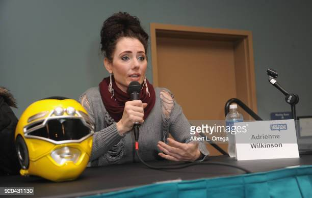 Actress Adrienne Wilkinson attends day 2 of the 8th Annual Long Beach Comic Expo held at Long Beach Convention Center on February 18 2018 in Long...