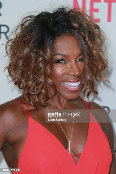Actress AdrienneJoi Johnson attends Special Screening Of Netflix's 'Nappily Ever After' at Harmony Gold on September 20 2018 in Los Angeles California
