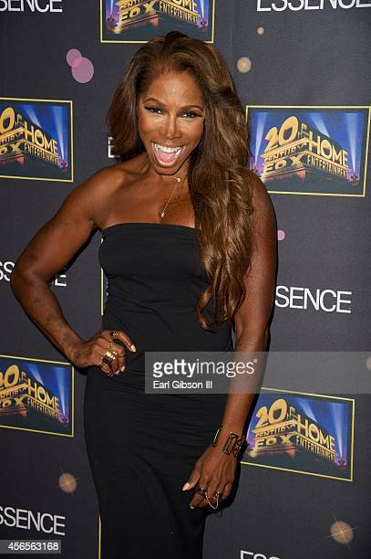 Actress AdrienneJoi Johnson attends the Essence 'A Toast To Primetime' Event at Herringbone Mondrian LA on October 2 2014 in Beverly Hills California