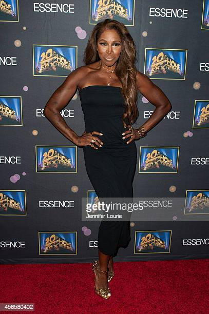 Actress AdrienneJoi Johnson attends the Essence 'A Toast To Primetime' Event at the Herringbone Mondrian LA on October 2 2014 in Beverly Hills...