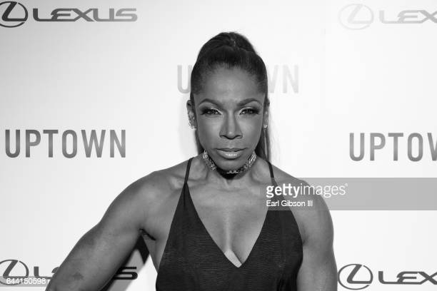 Actress AdrienneJoi Johnson attends Uptown Magazine's PreOscar Gala on February 22 2017 in Los Angeles California