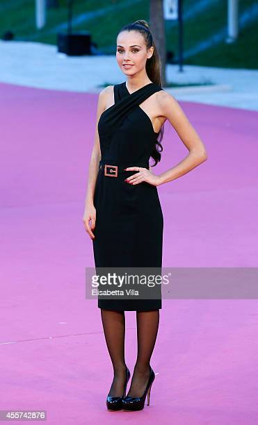 Actress Adua Del Vesco attends Roma Fiction Fest 2014 Closing Ceremony Pink Carpet at Auditorium Parco Della Musica on September 19 2014 in Rome Italy