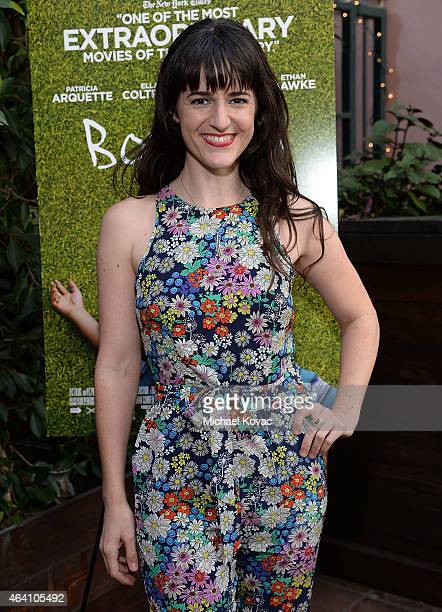 Actress Aemilia Scott attends the AMC Networks and IFC Films Spirit Awards After Party on February 21 2015 in Santa Monica California