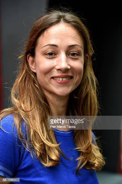 Actress Aenne Schwarz attends 'Vor Der MorgenroteStefan Zweig in Amerika' photocall during the 69th Locarno Film Festival on August 9 2016 in Locarno...