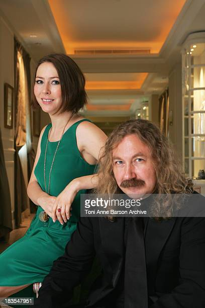 COVERAGE*** Actress Agata Gotova and Igor Nikolaev pose at the Hermitage Hotel to promote 'Say It in Russian' television series at the 2008 Monte...