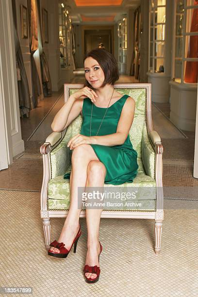 COVERAGE*** Actress Agata Gotova poses at the Hermitage Hotel to promote 'Say It in Russian' television series at the 2008 Monte Carlo Television...