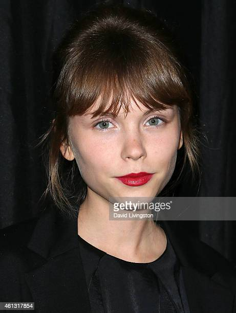 Actress Agata Trzebuchowska attends the 40th Annual Los Angeles Film Critics Association Awards at the Intercontinental Century City on January 10,...
