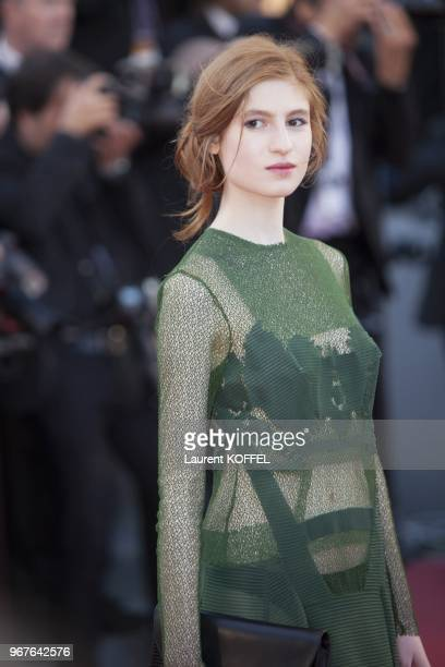Actress Agathe Bonitzer attends the 'The Immigrant' premiere during The 66th Annual Cannes Film Festival at the Palais des Festivals on May 24 2013...