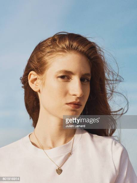 Actress Agathe Bonitzer is photographed for Self Assignment on June 15 2017 in Cabourg France