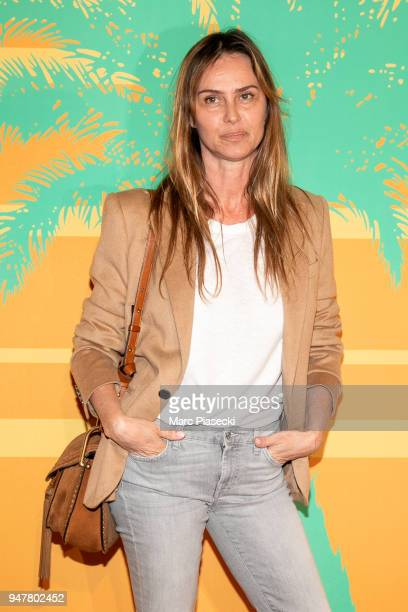 Actress Agathe de la Fontaine attends the 'MILF' Premiere at Cinema Gaumont Capucine on April 17 2018 in Paris France