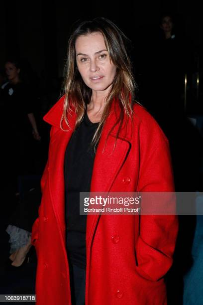 Actress Agathe de La Fontaine attends the 'Sauver ou Perir' Paris Premiere at Cinema UGC Normandie on November 20 2018 in Paris France