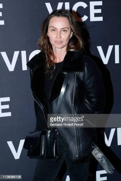 Actress Agathe de la Fontaine attends the 'Vice' Paris Premiere at Cinema Gaumont Opera on February 07 2019 in Paris France