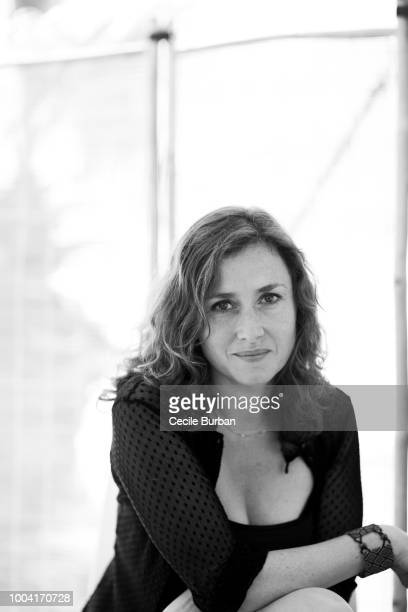 Actress Agathe Dronne is photographed for Self Assignment on May 2015 in Cannes France