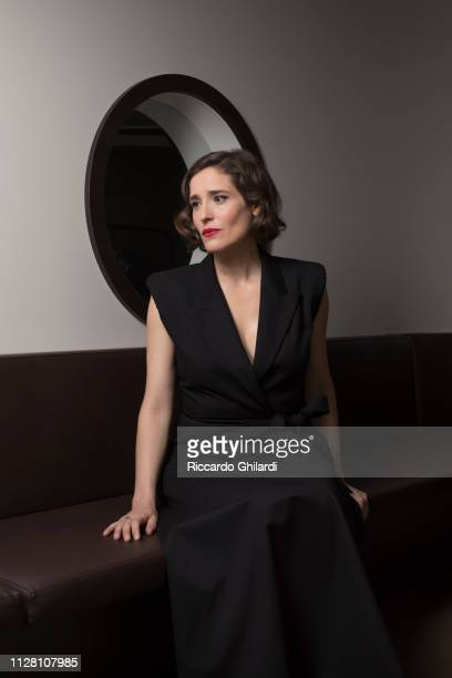 Actress Aggeliki Papoulia poses for a portrait during the 69th Berlinale International Film Festival on February 9 2019 in Berlin Germany