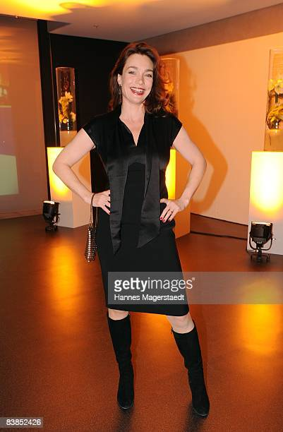 Actress Aglaia Szyszkowitz attenda the ARD Dinner at the Hypo Forum in Munich2008 on November 28 2008 in Munich Germany