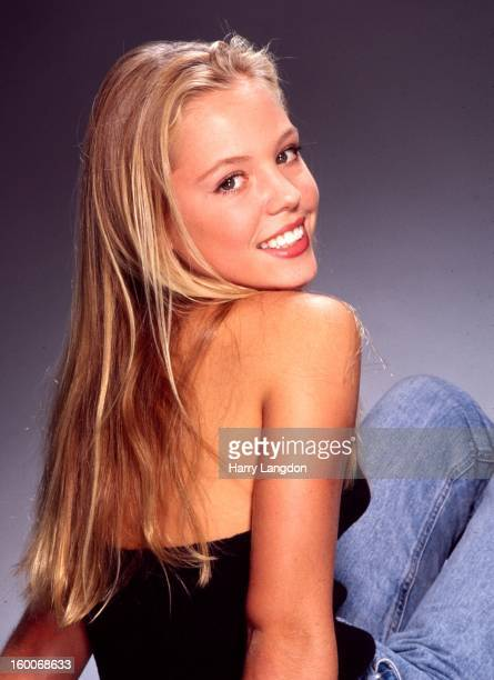 Actress Agnes Bruckner poses for a portrait in 1999 in Los Angeles California