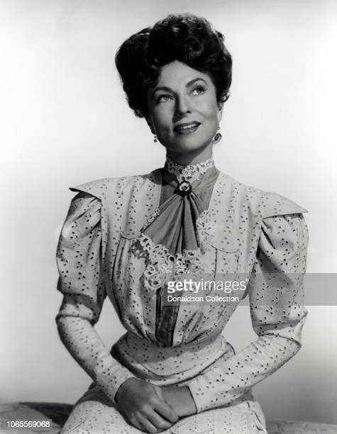 Actress Agnes Moorehead in a scene from the movie Summer Holiday