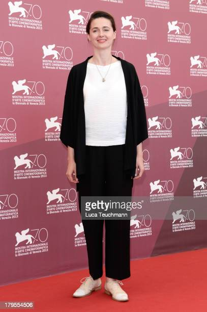 """Actress Agnieszka Grochowska attends """"Walesa. Man of Hope"""" Photocall during The 70th Venice International Film Festival at the Palazzo Del Casino on..."""