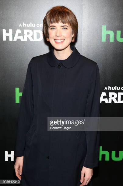 "Actress Agyness Deyn attends the ""Hard Sun"" Series premiere at Regal Union Square on February 28, 2018 in New York City."