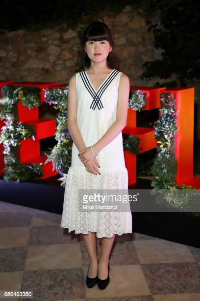 Actress Ahn SeoHyun attends the Netflix party during the 70th annual Cannes Film Festival at on May 21 2017 in Cannes France