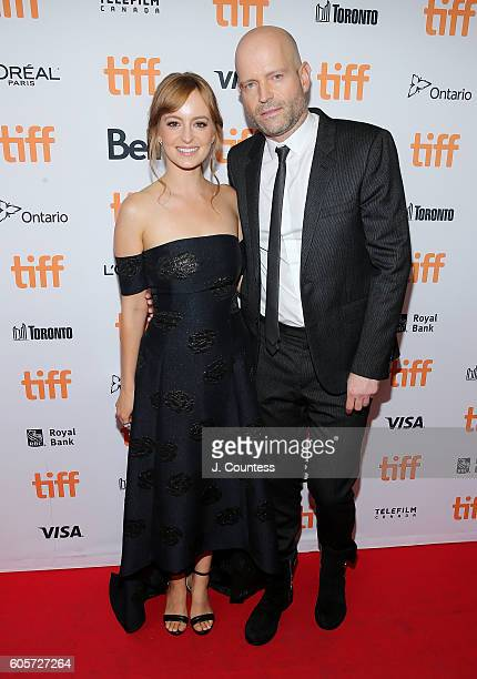 Actress Ahna O' Reilly and director Marc Forster attend the 2016 Toronto International Film Festival Premiere of 'All I See Is You' at the Princess...