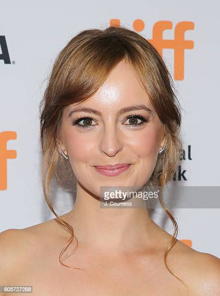 Actress Ahna O' Reilly attends the 2016 Toronto International Film Festival Premiere of 'All I See Is You' at the Princess of Wales Theatre on...
