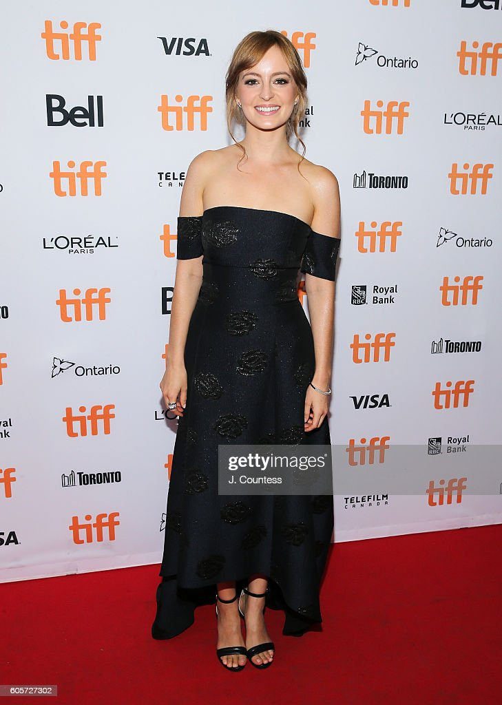 Actress Ahna O' Reilly attends the 2016 Toronto International Film Festival Premiere of 'All I See Is You' at the Princess of Wales Theatre on September 14, 2016 in Toronto, Canada.
