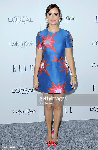 Actress Ahna O'Reilly arrives at the 22nd Annual ELLE Women In Hollywood Awards at Four Seasons Hotel Los Angeles at Beverly Hills on October 19 2015...
