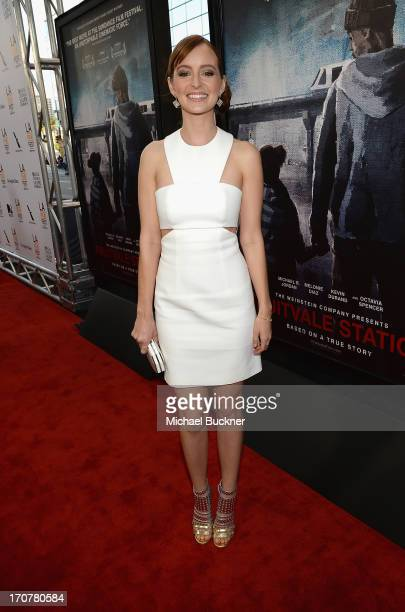 Actress Ahna O'Reilly arrives at the premiere of The Weinstein Company's Fruitvale Station at Regal Cinemas LA Live on June 17 2013 in Los Angeles...