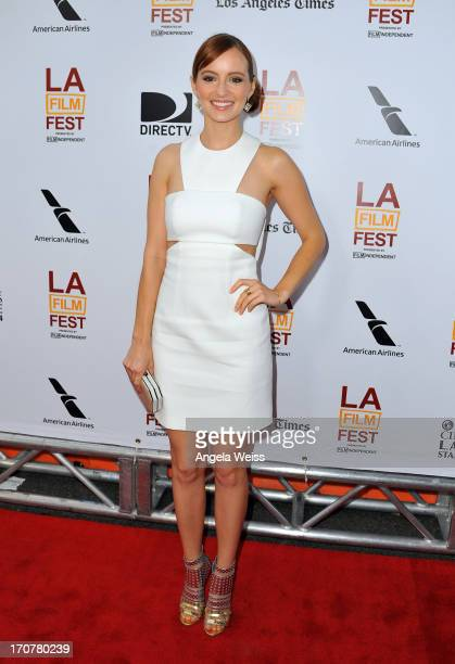 """Actress Ahna O'Reilly arrives at the premiere of The Weinstein Company's """"Fruitvale Station"""" during the 2013 Los Angeles Film Festival at Regal..."""