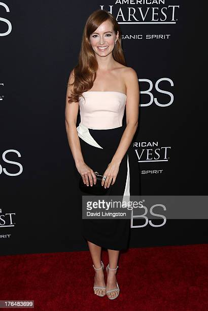 Actress Ahna O'Reilly attends a screening of Open Road Films and Five Star Feature Films' 'Jobs' at Regal Cinemas LA Live on August 13 2013 in Los...