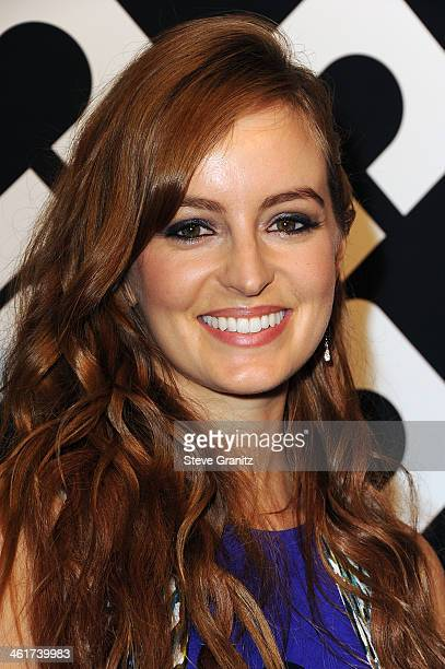 Actress Ahna O'Reilly attends Diane Von Furstenberg's 'Journey Of A Dress' Premiere Opening Party at Wilshire May Company Building on January 10 2014...