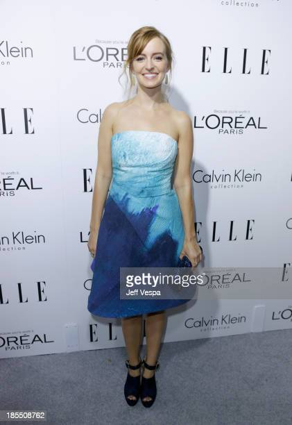 Actress Ahna O'Reilly attends ELLE's 20th Annual Women In Hollywood Celebration at Four Seasons Hotel Los Angeles at Beverly Hills on October 21 2013...