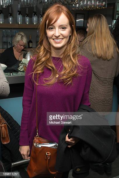 Actress Ahna O'Reilly attends Paige Hospitality Game Watch at Sky Bar on January 20 2013 in Park City Utah