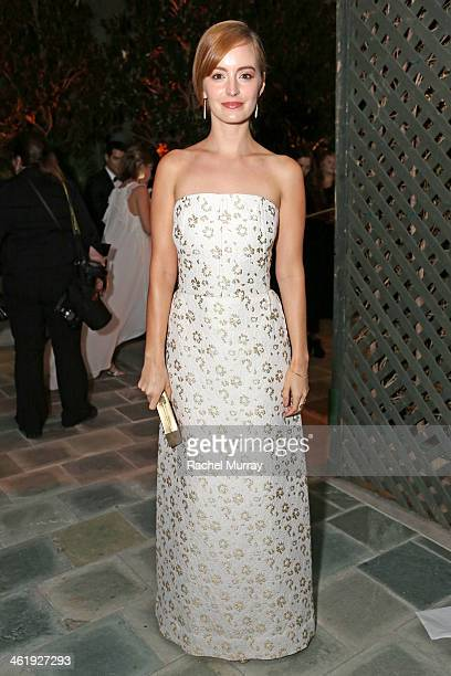 Actress Ahna O'Reilly attends PerrierJouet Celebration of The Art of Elysium's 7th Annual HEAVEN Gala presented By MercedesBenz at Skirball Cultural...