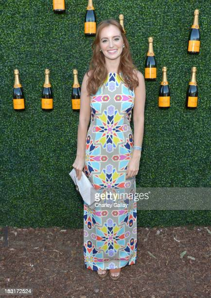 Actress Ahna O'Reilly attends The FourthAnnual Veuve Clicquot Polo Classic Los Angeles at Will Rogers State Historic Park on October 5 2013 in...