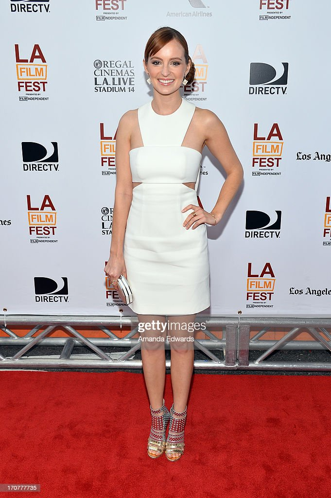 Actress Ahna O'Reilly attends the 'Fruitvale Station' premiere during the 2013 Los Angeles Film Festival at Regal Cinemas L.A. Live on June 17, 2013 in Los Angeles, California.