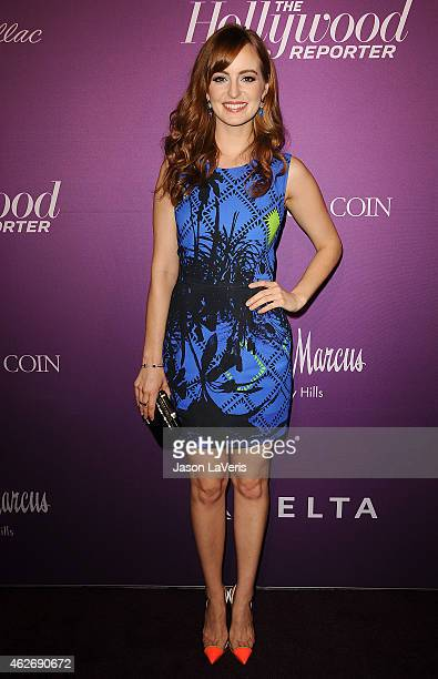 Actress Ahna O'Reilly attends the Hollywood Reporter's 3rd annual Academy Awards nominees night at Spago on February 2 2015 in Beverly Hills...