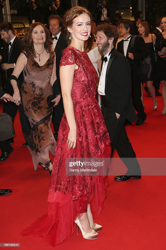 Actress Ahna O'Reilly attends the Premiere of 'As I Lay Dying' during the 66th Annual Cannes Film Festival at the Palais des Festivals on May 20, 2013 in Cannes, France.