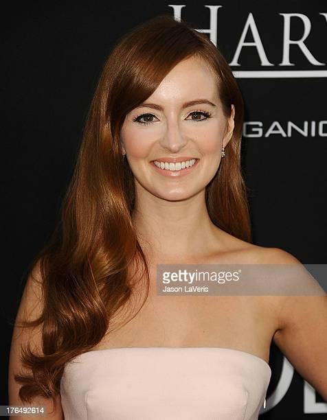 Actress Ahna O'Reilly attends the premiere of 'Jobs' at Regal Cinemas LA Live on August 13 2013 in Los Angeles California