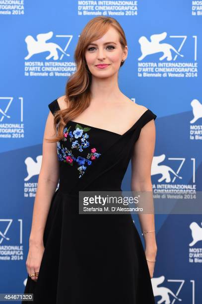 Actress Ahna O'Reilly attends 'The Sound And The Fury' Photocall during the 71st Venice Film Festival on September 5 2014 in Venice Italy