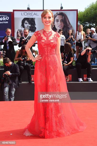 Actress Ahna O'Reilly attends 'The Sound And The Fury' Premiere during the 71st Venice Film Festival at Sala Grande on September 5 2014 in Venice...