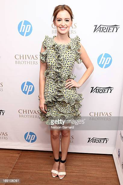 Actress Ahna O'Reilly attends the Variety Studio at Chivas House on May 20 2013 in Cannes France