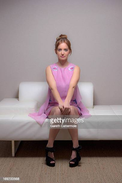 Actress Ahna O'Reilly during a portrait session at The 66th Annual Cannes Film Festival at the Palais des Festivals on May 21 2013 in Cannes France